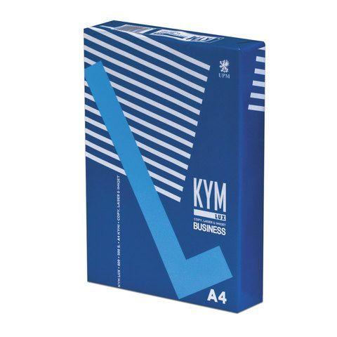 Бумага офисная А4, 80 г/м2, 500 л., марка В, KYM LUX BUSINESS, Финляндия, 164% (CIE)