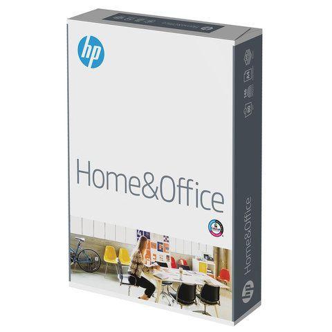 Бумага офисная А4, 80 г/м2, 500 л., марка С, HP HOME&OFFICE, ColorLok, Россия, 146% (CIE)
