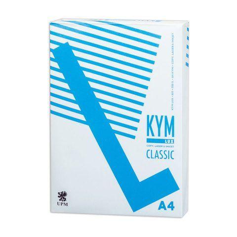 Бумага офисная А4, 80 г/м2, 500 л., марка С, KYM LUX CLASSIC, Финляндия, 150% (CIE)