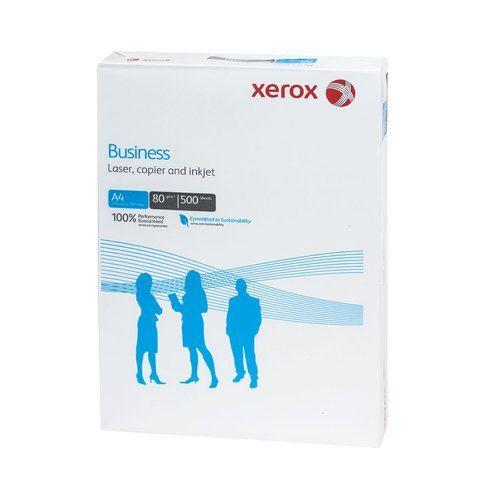 Бумага офисная А4, 80 г/м2, 500 л., марка В, XEROX BUSINESS, Финляндия, 164% (CIE), 003R91820