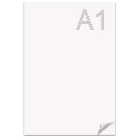 Ватман А1 (610 х 860 мм), 1 лист, плотность 200 г/м2, ГОЗНАК С-Пб, упаковка по 100 листов, водяной знак