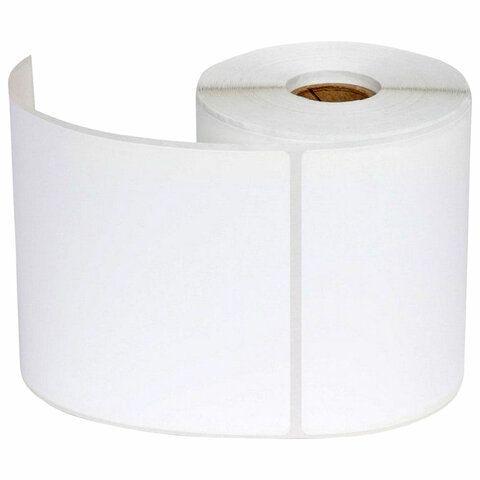 Этикетка термотрансферная ПОЛИПРОПИЛЕНОВАЯ (100х150 мм), 250 этикеток в ролике, 53078