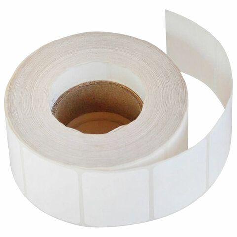 Этикетка термотрансферная ПОЛИПРОПИЛЕНОВАЯ (30х20 мм), 2000 этикеток в ролике, 53079