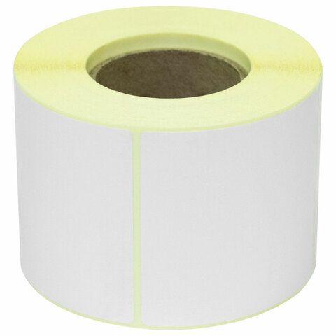 Этикетка термотрансферная ПОЛУГЛЯНЕЦ (58х60 мм), 500 этикеток в ролике, 52202