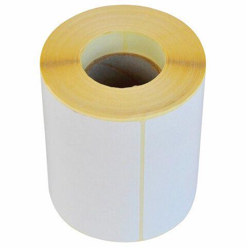 Этикетка термотрансферная ПОЛУГЛЯНЕЦ (100х150 мм), 250 этикеток в ролике, 111976