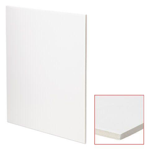 Пенокартон матовый, 30х40 см, толщина 5 мм, белый, КОМПЛЕКТ 5 листов, BRAUBERG, 112468