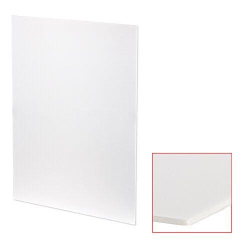 Пенокартон матовый, 70х100 см, толщина 3 мм, белый, КОМПЛЕКТ 5 листов, BRAUBERG, 112474