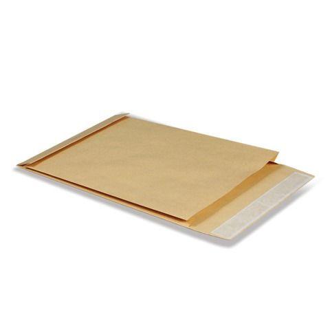 Конверт-пакет С4 объемный (229х324х40 мм), до 250 листов, крафт-бумага, отрывная полоса, 381227