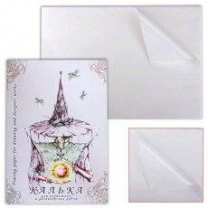 Калька для чертежных и дизайнерских работ, А3, 297х420 мм, 40 г/м2, в папке, 40 листов, КДР/А3