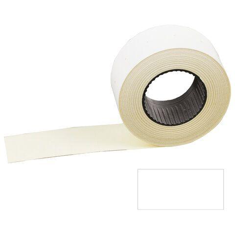 """Этикет-лента 26х16 мм, прямоугольная, белая, КОМПЛЕКТ 100 рулонов по 800 шт., STAFF """"EVERYDAY"""", 128456"""