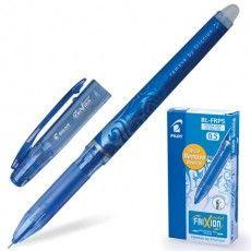 """Ручка стираемая гелевая PILOT """"Frixion Point"""", СИНЯЯ, игольчатый узел 0,5 мм, линия письма 0,25 мм, BL-FRP-5"""