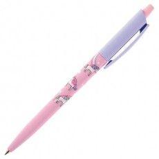 """Ручка шариковая автомат. BRUNO VISCONTI """"HappyClick"""", СИНЯЯ, """"Единороги"""", 0,5 мм, линия пиьсма 0,3 мм, 20-0241/22"""