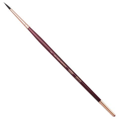 Кисть художественная KOH-I-NOOR белка, круглая, №2, короткая ручка, блистер, 9935002017BL