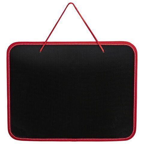 """Папка на молнии пластиковая с ручками BRAUBERG """"Contract"""", А4, 350х270х45 мм, черно-красная, 225164"""
