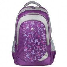 """Рюкзак BRAUBERG для старшеклассников/студентов/молодежи, """"Цветочный узор"""", 25 литров, 30х18х49 см, 225288"""