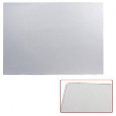 Коврик-подкладка настольный для письма (655х475 мм), прозрачный, матовый, ДПС, 2808