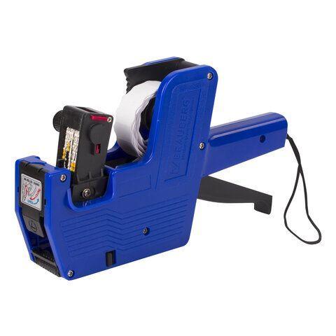 Этикет-пистолет однострочный, волнистая лента 22x12 мм, 8 символов, BRAUBERG, 290436