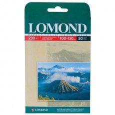 Фотобумага 10х15 см, 230 г/м2, 50 листов, односторонняя, глянцевая, LOMOND 0102035