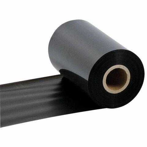 Риббон WAX, 110мм х 74м, втулка диаметр 12,7 мм (0,5 дюйма) х ширина 110 мм, красящий слой наружу (OUT), 363527