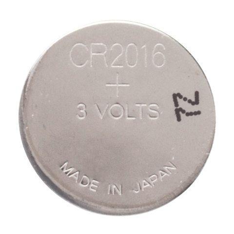 Батарейка GP Lithium, CR2016, литиевая, 1 шт., в блистере (отрывной блок), CR2016-7CR5