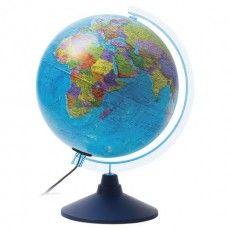 """Глобус политический GLOBEN """"Классик Евро"""", диаметр 250 мм, с подсветкой, Ке012500190"""