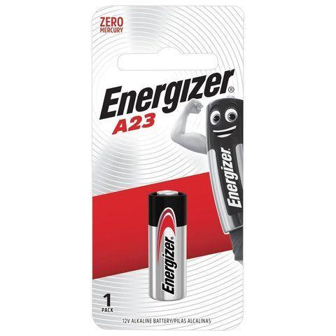 Батарейка ENERGIZER, A23 (23АЕ), алкалиновая, для сигнализаций, 1 шт, в блистере, 639315