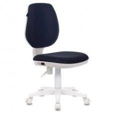 "Кресло BRABIX ""Fancy MG-201W"", без подлокотников, пластик белый, серое, 532412, MG-201W_532412"