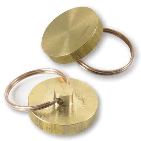 Анонс-изображение товара печать металлическая к опечатывающим устройствам (600411, 601926, 601925), диаметр 25 мм, латунь