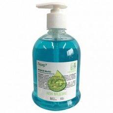 Мыло жидкое антибактериальное 500 мл ЛЮИР, увлажняющее, дозатор