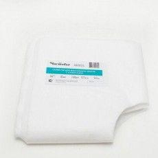 Салфетки одноразовые для массажного стола, с отверстием ЧИСТОВЬЕ комплект 50 шт., 30х40 см, спанлейс 40 г/м2, белые, 01-470