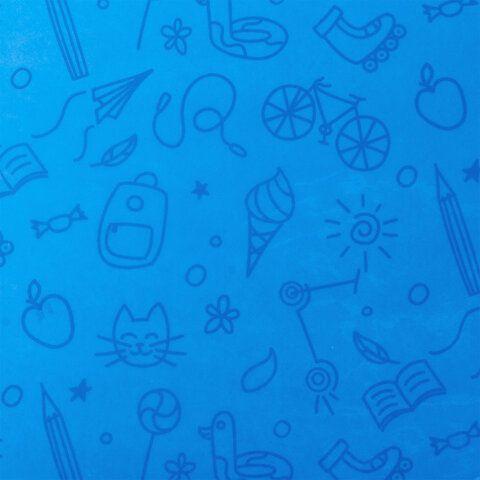 Клеёнка настольная для занятий творчеством ЮНЛАНДИЯ, БИГФУТ, 50х70 см, ПВХ, 662458