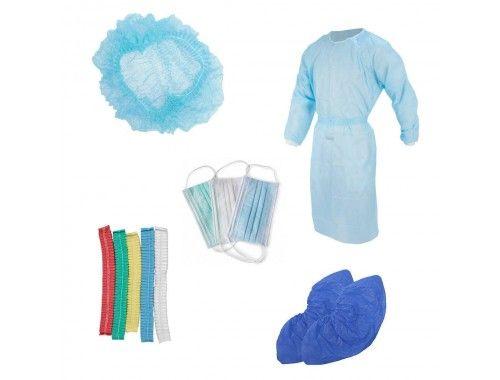 Одноразовое медицинское белье и одежда